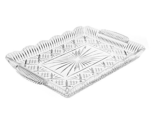 Crystal Rectangular Elegant Serving (Crystal Cake Platter)