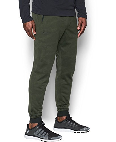 Under Armour Men's Sportstyle Joggers, Downtown Green/Black, Large