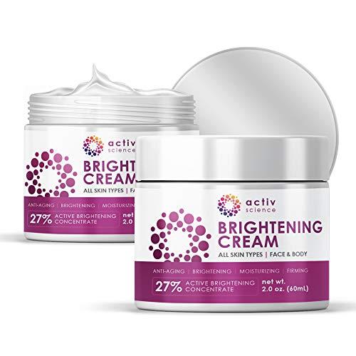 41ZJLCriPEL - ACTIVSCIENCE Whitening Cream - Powerful Skin Lightening Cream for Face & Body. Dark Spot, Melasma & Hyperpigmentation Treatment. 2 fl oz.