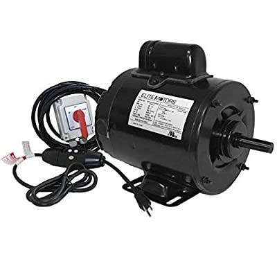 BH-USA Wired Boat Lift Motor with Lock on Switch