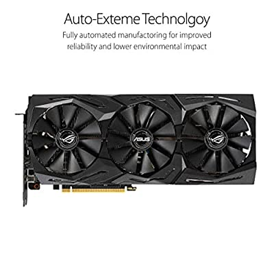 ASUS GeForce RTX 2070 Overclocked O8G GDDR6 HDMI DP 1.4 USB Type-C Graphic Card