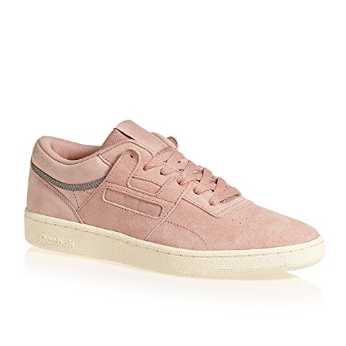 Reebok White Sn Workout Pink Chalk Club Schuhe ZZaqv