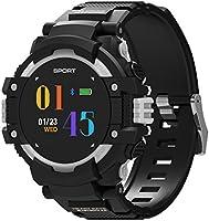 F7 Smart Watch Fitness Tracker IP67 Waterproof Heart Rate Monitor Bluetooth Watch - Black