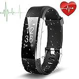 Fitness Tracker, EletecPro Sport Waterproof Smart Watch,Wristband Heart Rate and Blood Press Monitor
