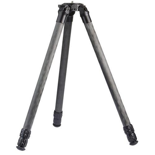 ProMediaGear Pro-Stix 34 Series 59'' 3 Long Section Carbon Fiber Tripod with 34mm Diameter Legs, 60 lbs Capacity by ProMediaGear