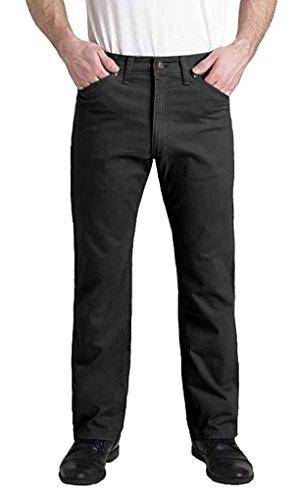 Grand River Big Mens and Tall Comfort Stretch Twill Pant (Black 44W x 30L)