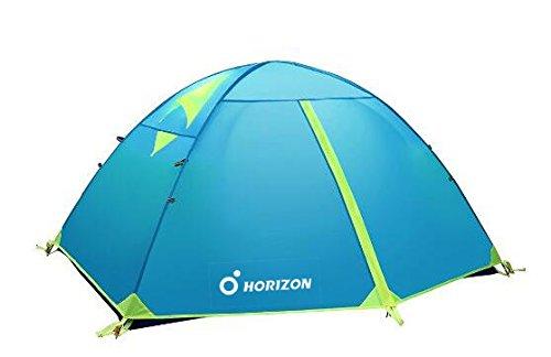 Zelt Wandern 2 Personen : Horizon outdoor personen double layer wasserdicht