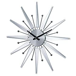 Stilnovo George Nelson Mirrored Starburst Clock