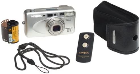 Minolta Freedom Zoom 125 Panorama Date 35mm Camera w//Remote Control