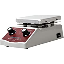 Fristaden Lab SH-2 Laboratory Magnetic Stirrer Hot Plate Mixer, 2,000mL, 100~1600RPM, 180W Heating Power 350°C Max Independently Controls Temperature and Speed 1 Year Warranty