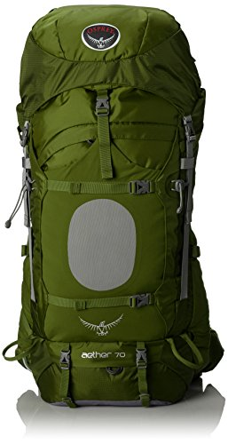 Osprey Mens Aether 70 Backpack Bonsai Green Medium