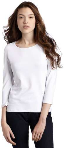 Only Hearts Women's Delicious Crew-Neck T-Shirt, White, - Chemise Delicious Hearts