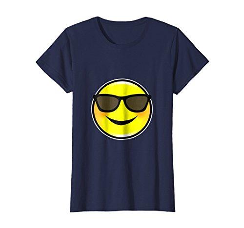 Womens Halloween Group Costume T Shirt DIY Emoji Men Women Youth Small Navy