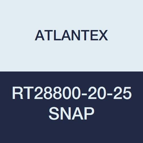 ATLANTEX RT28800-20-25 SNAP Reflect-Therm SNAP Reflective Sleeving with SNAP Closure 1 3//4 x 25 1 3//4 x 25/'