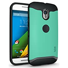 TUDIA Slim-Fit MERGE Dual Layer Protective Case for Motorola Moto G 3 (3rd Gen 2015 Released) (Mint)