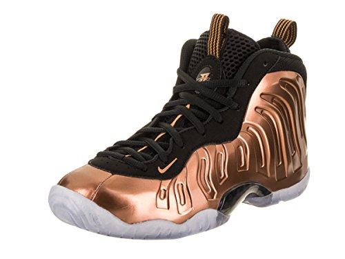 dc404c640499b Nike Air Foamposite One Copper Grade School Basketball Shoe (Black Copper)  Size Kids