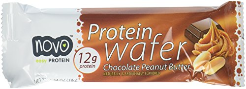 Protein Wafer Peanut Butter - Box of 12 Bars, Peanut Butter, 12 ()