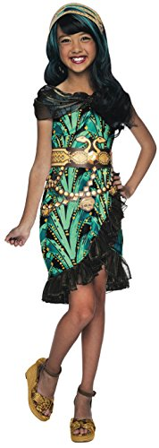 Rubies Monster High Fright Camera Action Cleo de Nile Costume, Child Large -