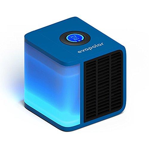 Evapolar evaLIGHT Personal Evaporative Air Cooler Humidifier, Portable Air Conditioner, Blue