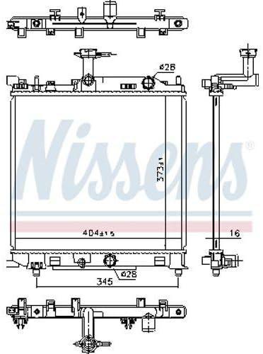 Nissens 641777/Coolant Motor