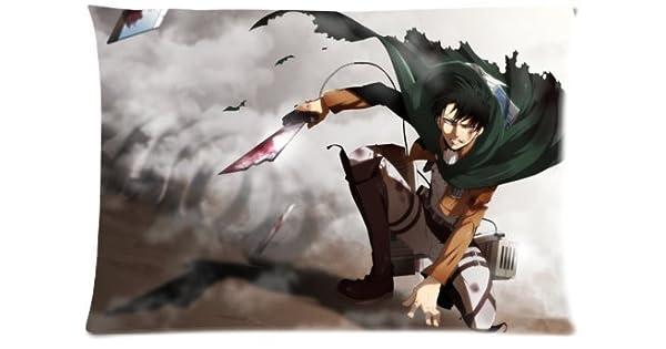 Amazon.com: Juego de funda nórdica japonés Attack on Titan ...
