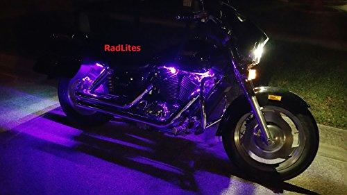 Pink Purple 8 Piece Led Neon Motorcycle Lighting Kit Buy