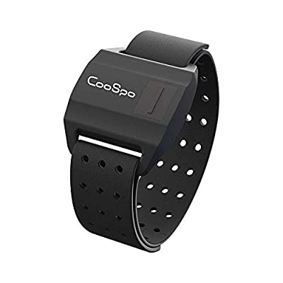 CooSpo Waterproof Armband Heart Rate Monitor with Bluetooth/ANT+