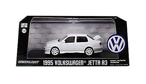 Amazon Com 1995 Volkswagen Jetta A3 White 1 43 Diecast Model Car By