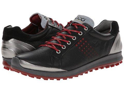 (エコー) ECCO メンズゴルフシューズ靴 BIOM Hybrid 2 [並行輸入品] B06ZZ74HJL 42 (US Men's 8-8.5) (n/a) D - M Black/brick