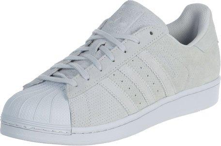 adidas Originals Superstar II Unisex-Erwachsene Sneakers Beige Blau