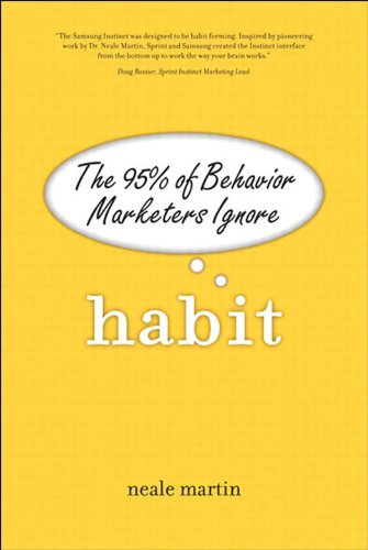 Habit begins with a revolutionary premise–95% of human behavior is controlled by the unconscious mind. This fact exposes the central flaw in marketing theory, market research, and a preponderance of business strategy–that customers are consciously a...