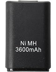 batteria ricaricabile - TOOGOO(R) Microsoft Xbox 360 sostituzione della batteria, nero