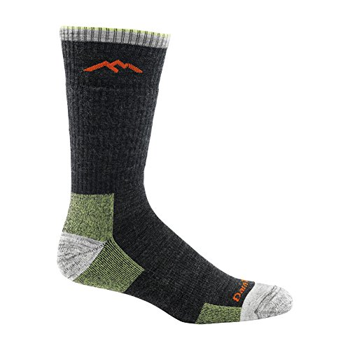 Trek Boot Sock (Darn Tough Merino Wool Hike/Trek Boot Socks - Men's Lime 2X-Large)