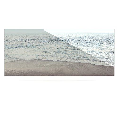 24 x 36 Kess InHouse Monika Strigel The Sea Blue Coastal Luxe Rectangle Panel