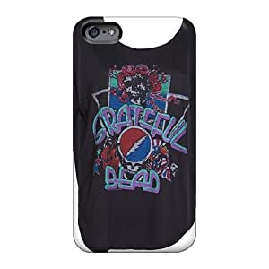 Scratch Protection Hard Phone Case For Iphone 6 (YQL10622dQMu) Customized Vivid Grateful Dead Image