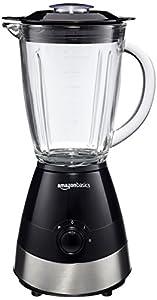 AmazonBasics Mixer, Leistung: 550 W, 1,5 l, Schwarz
