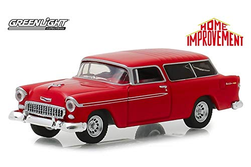 1955 Chevy Bel Air Nomad, Home Improvement - Greenlight 44830E/48 - 1/64 Scale Diecast Model Toy Car ()