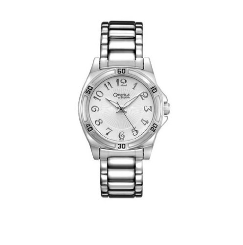 Caravelle by Bulova 43L135 Stainless Steel Bracelet Casual Women's Watch