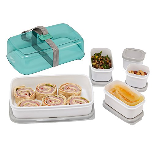 Rubbermaid Fasten + Go Entree Kit, Sea Foam Green 1955734