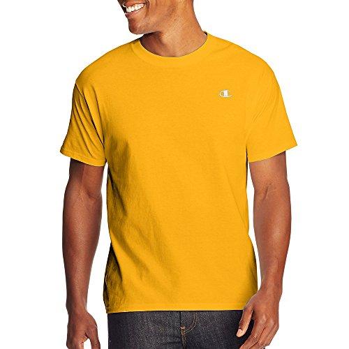 By Champion Cotton Jersey Men's T Shirt_Team Gold_XL