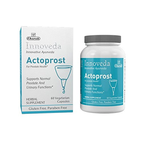 Innoveda Actoprost Saw Palmetto Supplement for Prostate Health, BPH, Natural Prostate Support Formula to Reduce Frequent Urination and Flow, DHT Blocker – Ayurvedic Herbal Prostate Supplement for Men Review