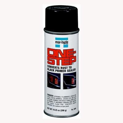 (Mar-Hyde One-Step Rust Converter Primer Sealer, 10 oz. aerosol, CASE of 12 (3509-C12))