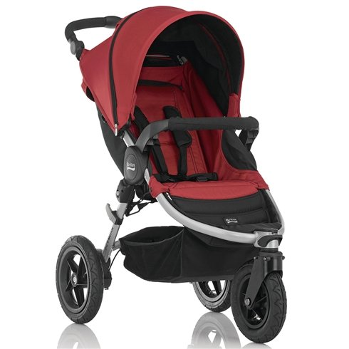 Britax B-Motion 3 Pushchair from Birth to 4 Years (Neon Chili) 2000010518
