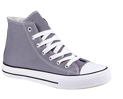 King Of Shoes - Pantofole a Stivaletto Uomo Grigio (grigio)