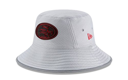 San Francisco 49ers Training Camp - New Era NFL 2018 Training Camp Sideline Bucket Hat - Gray (San Francisco 49ers)
