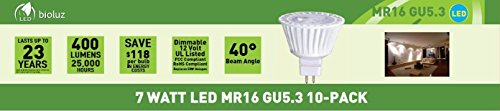 Bioluz-LED-10-Pack-MR16-Bulbs-Or-Sockets-GU53-Base