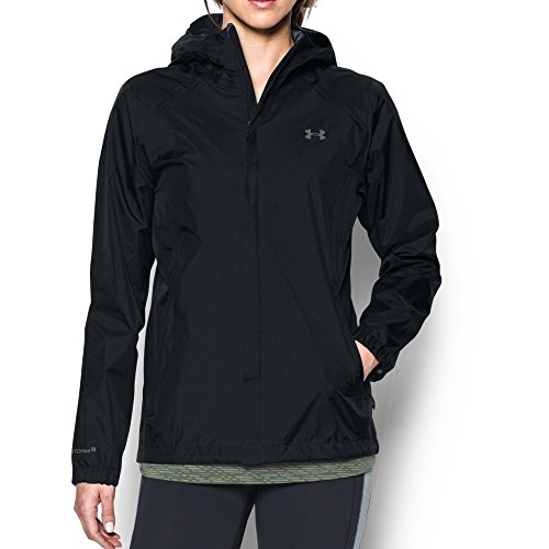 Under Armour Women's UA Bora Jacket, Black (001)/Graphite, Medium (Women Under Armour Jacket)