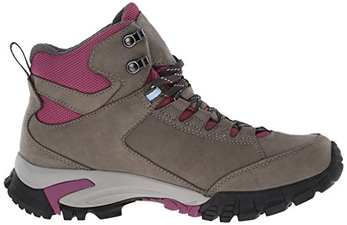 Vasque Women's Talus Trek UltraDry Hiking Boot, Gargoyle/Damson, 9.5 M US