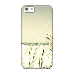 Iphone Case - Tpu Case Protective For Iphone 5c- Seaside Grass