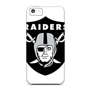 BNH1364ddDV Tpu Phone Case With Fashionable Look For Iphone 5c - Oakland Raiders